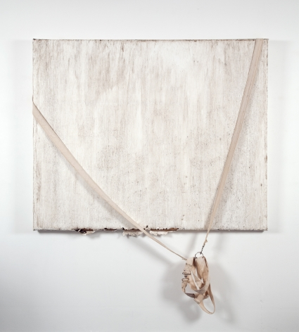 Margie Livingston Dragged Painting with Harness, 2016