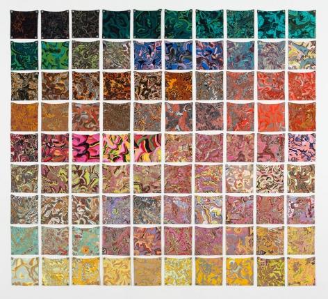 Margie Livingston 90 Color Test, 2013