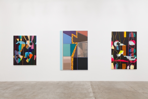 Installation View of Britton Tolliver: Bend To Play