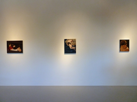 Installation View of Abel Baker Gutierrez: Swimming
