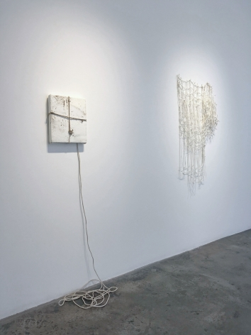 Installation View of Margie Livingston: Holding it together