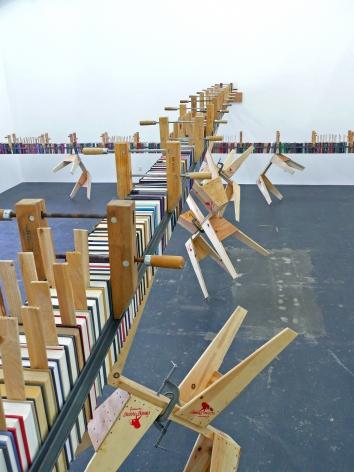 Installation View of David Adey: John Henry