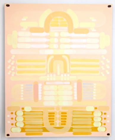 Lily Stockman Movie Palace, 2014  Oil on Indian linen 60 x 48 in.