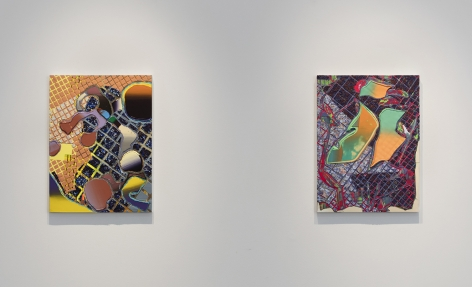 Install View of Britton Tolliver: Powdered Toast