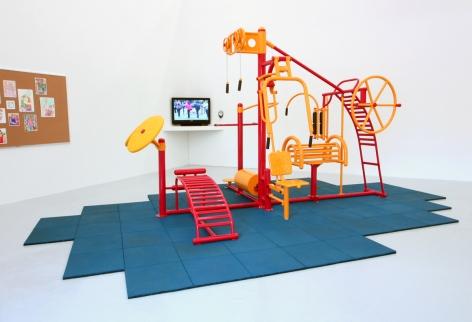 Installation View of Seth Augustine: MASH_UPS