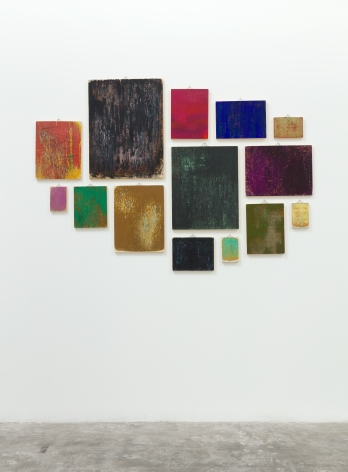 Installation View of Margie Livingston: The Earth is a Brush