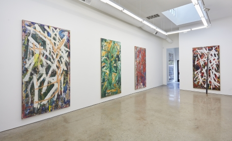 Installation View 5 of Spencer Lewis Evil Baby Bully Part Object Paintings (October 8 – November 19, 2016) Nino Mier Gallery, Los Angeles, CA