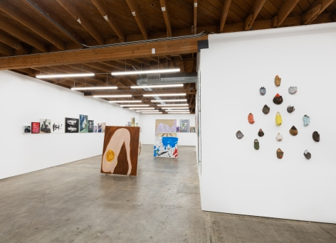 Installation view 8 of To Paint is To Love Again, Curated by Olivier Zahm (January 18-28, 2020) at Nino Mier Gallery, Los Angeles