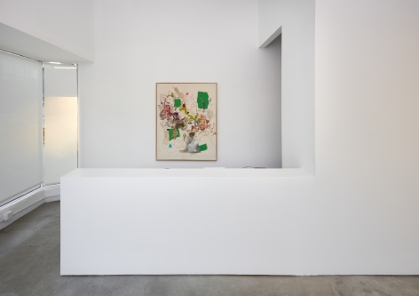 Installation view 3 of Michael Bauer: Soft Paintings (Bearnaise) (January 27 – March 11, 2017), Nino Mier Gallery, Los Angeles