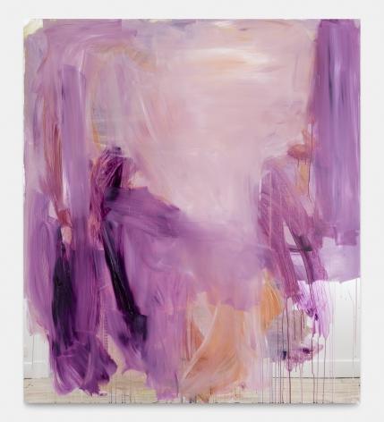 Peter Bonde Untitled, 2020 Oil on mirror-foil 63 x 55 1/8 in 160 x 140 cm (PB20.001)
