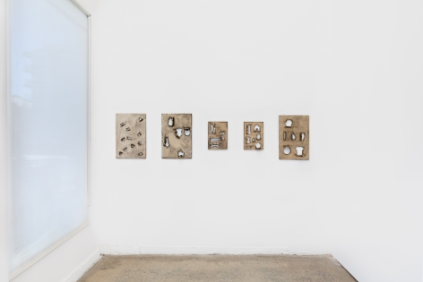 Installation View of Zak Kitnick: Shapes (January 22–February 27, 2020) Nino Mier Gallery, Los Angeles, CA 4