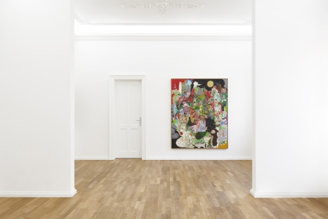 Installation view 8 of Michael Bauer: New Paintings (April 19-22, 2018) at Salon Nino Mier, Cologne