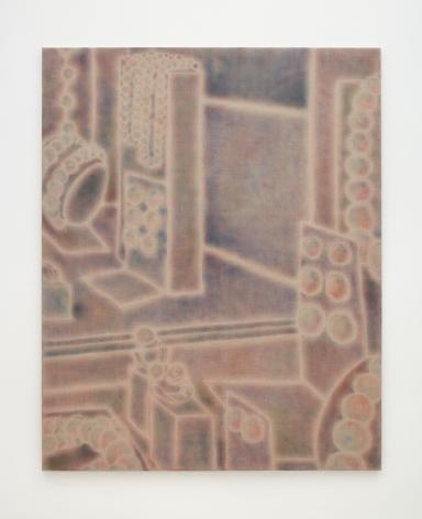 Maximilian Kirmse P.I., 2018, Oil on linen, 63 x 51 1/8 in (160 x 130 cm), MK18.009