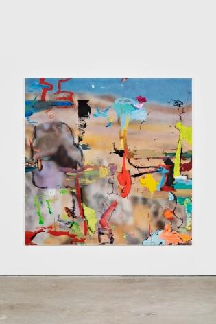 Antwan Horfee Desert in China - Still Life, 2021 Acrylic on canvas 78 3/4 x 78 3/4 in 200 x 200 cm (HOR21.009)