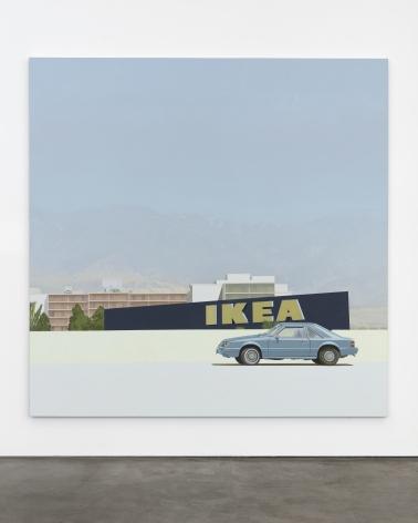 Jake Longstreth Burbank, 2021 Oil on canvas 84 x 84 in 213.4 x 213.4 cm (JLO21.034)