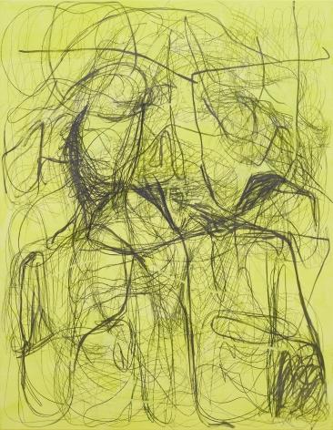 Jana Schröder, Kadlites M1, 2017. Acrylic, graphite and lead on canvas, 78 3/4 x 61 1/8 in, 200 x 155 cm (JSR17.069)