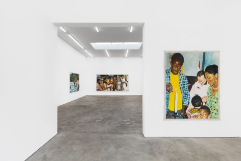 Installation View 4 of Kareem-Anthony Ferreira: First Foundation (September 12–October3, 2020). Nino Mier Gallery, Los Angeles, CA