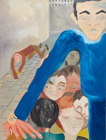 Tomasz Kowalski Untitled, 2018 Oil on canvas 65 x 49 1/4 x 1 5/8 in 165 x 125 x 4 cm (TKO18.003)
