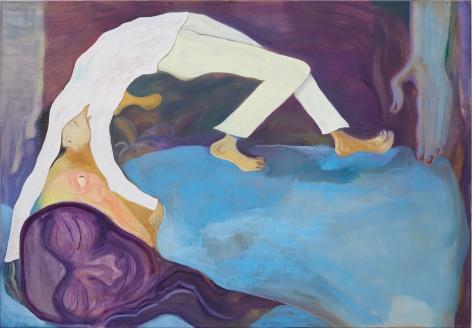 Tomasz Kowalski Untitled, 2018 Oil on canvas 45 1/4 x 65 in 114.9 x 165.1 cm (TKO18.029)