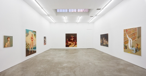 Installation view 2 of Jansson Stegner: New Paintings (January 20-March 3, 2018) at Nino Mier Gallery, Los Angeles