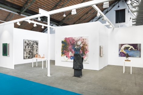 Art Brussels 2019, Exterior installation view, looking left