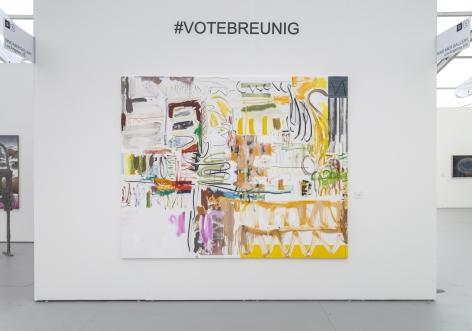 UNTITLED, ART, Miami Beach 2019, Installation view; Breunig close-up