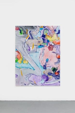 Antwan Horfee  Creepy Crawlers, 2021 Acrylic on canvas51 1/8 x 68 7/8 in130 x 175 cm  (HOR21.023)
