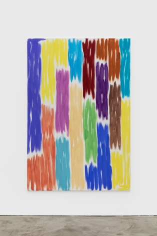 Emanuel Seitz  Untitled, 2021Acrylic and pigment on canvas  72 7/8 x 49 1/4 in185 x 125 cm(ESE21.001)