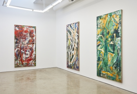 Installation View 11 of Spencer Lewis Evil Baby Bully Part Object Paintings (October 8 – November 19, 2016) Nino Mier Gallery, Los Angeles, CA