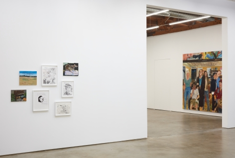 Installation view 7 of Celeste Dupuy-Spencer: The Chiefest of Ten Thousand (September 22-November 3, 2018), Nino Mier Gallery, Los Angeles