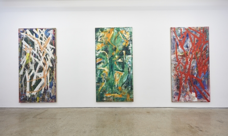 Installation View 4 of Spencer Lewis Evil Baby Bully Part Object Paintings (October 8 – November 19, 2016) Nino Mier Gallery, Los Angeles, CA