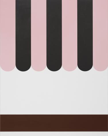 Thomas Wachholz Star Palace, 2019 Red phosphorus and acrylic on canvas 37.4 x 29.5 x 1.4 in 95 x 75 x 3.6 cm (TW19.015)
