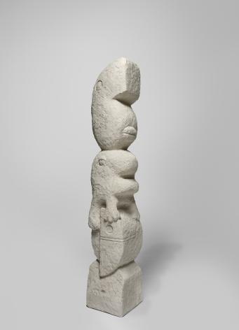 Stefan Rinck, Abstract Composition, 2019. Sandstone, 200 x 45 x 38cm (SRI19.001)