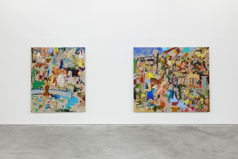 Installation View of Cindy Phenix: Particles of Abnormality (October 17–November 14, 2020). Nino Mier Gallery, Los Angeles, CA 1