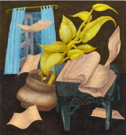 Ginny Casey, Post Epilogue, 2020. Oil on canvas, 54 1/2 x 51 in, 138.4 x 129.5 cm (GCA20.004)