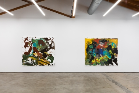 """Installation View of """"Paintings"""""""