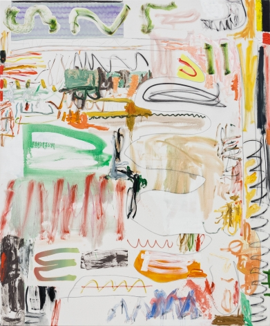 Andreas Breunig, Body Possibility No8, 2019, Oil, graphite, charcoal on canvas, 90 1/2 x 74 3/4 in 230 x 190 cm, ABR19.025
