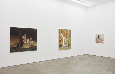Installation view 4 of Jansson Stegner: New Paintings (January 20-March 3, 2018) at Nino Mier Gallery, Los Angeles