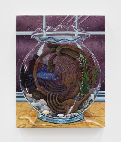 Marisa Adesman Fighting Chance, 2020 Oil on panel 8 x 10 in 20.3 x 25.4 cm (MAD20.002)