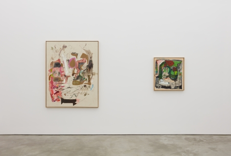 Installation view 4 of Michael Bauer: Soft Paintings (Bearnaise) (January 27 – March 11, 2017), Nino Mier Gallery, Los Angeles