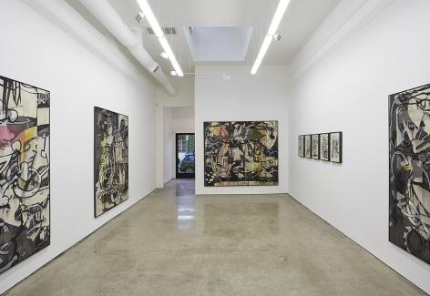 "Installation View of ""MYS/MOS"" Show by Jan-Ole Schiemann"