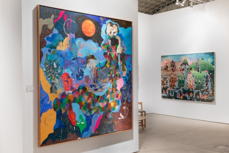 Installation view 3 of Expo Chicago, 2019