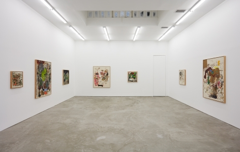 Installation view 8 of Michael Bauer: Soft Paintings (Bearnaise) (January 27 – March 11, 2017), Nino Mier Gallery, Los Angeles