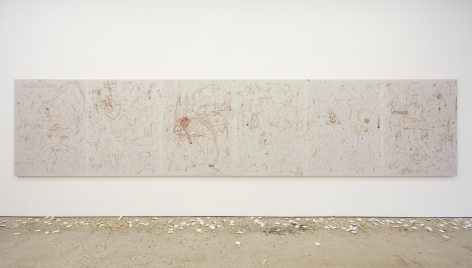 Installation view of Thomas Wachholz: Strike Gently (January 16-February 27, 2016) at Nino Mier Gallery, Los Angeles
