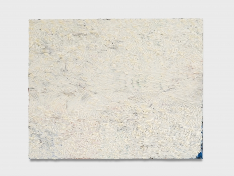 Dashiell Manley  hiding (S.P., white things turning yellow over time), 2021 Oil on linen48 x 60 in121.9 x 152.4 cm  (DMA21.002)