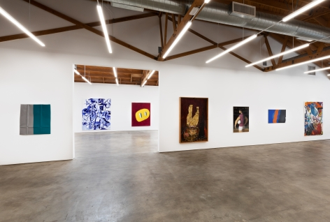 Installation shot of Five Year Anniversay Show (June 27–August 31, 2020). Nino Mier Gallery, Los Angeles, CA