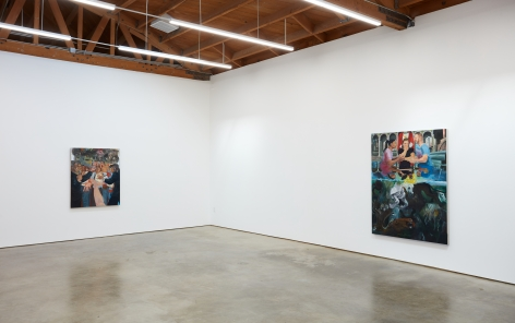 Installation view 3 of Celeste Dupuy-Spencer: The Chiefest of Ten Thousand (September 22-November 3, 2018), Nino Mier Gallery, Los Angeles