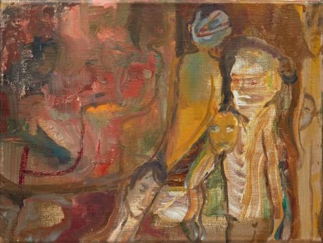 Tomasz Kowalski, Untitled, 2018. Oil on canvas, 11 3/4 x 15 3/4 in, 30 x 40 cm (TKO18.024)