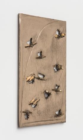 Zak Kitnick The Reincarnation Years In (Fox Run Mini Flower and Butterfly 11 Piece Cookie Cutter Set), 2020 Bronze 15 x 22 in 38.1 x 55.9 cm (ZKI20.004)