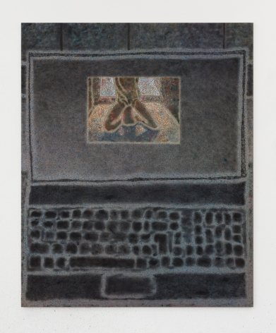 Maximilian Kirmse F.S., 2018 Oil on linen 63 x 51 1/8 in 160 x 130 cm (MK18.008)